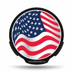 American Wave Flag POWERDECAL® + Lens
