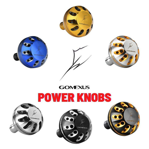 Gomexus Power Knob For Shimano | Daiwa | Penn Reel Handle Kit