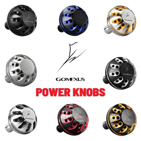 Gomexus Power Knob For Shimano | Daiwa | Penn Spinning Reel Handle