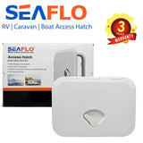 SEAFLO Boat Access Hatch - Marine Deck Hatch Caravan RV Motorhome WHITE
