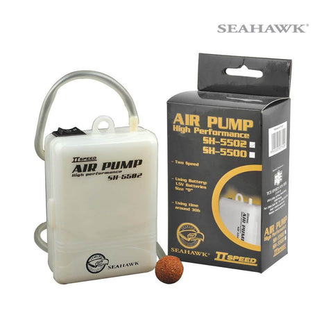 Seahawk Live Bait Aerator Pump Portable - 2 Speed