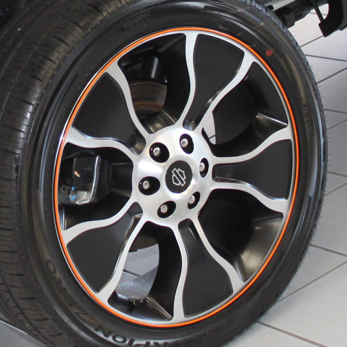 F-150_Harley-orange-wheel-closeup