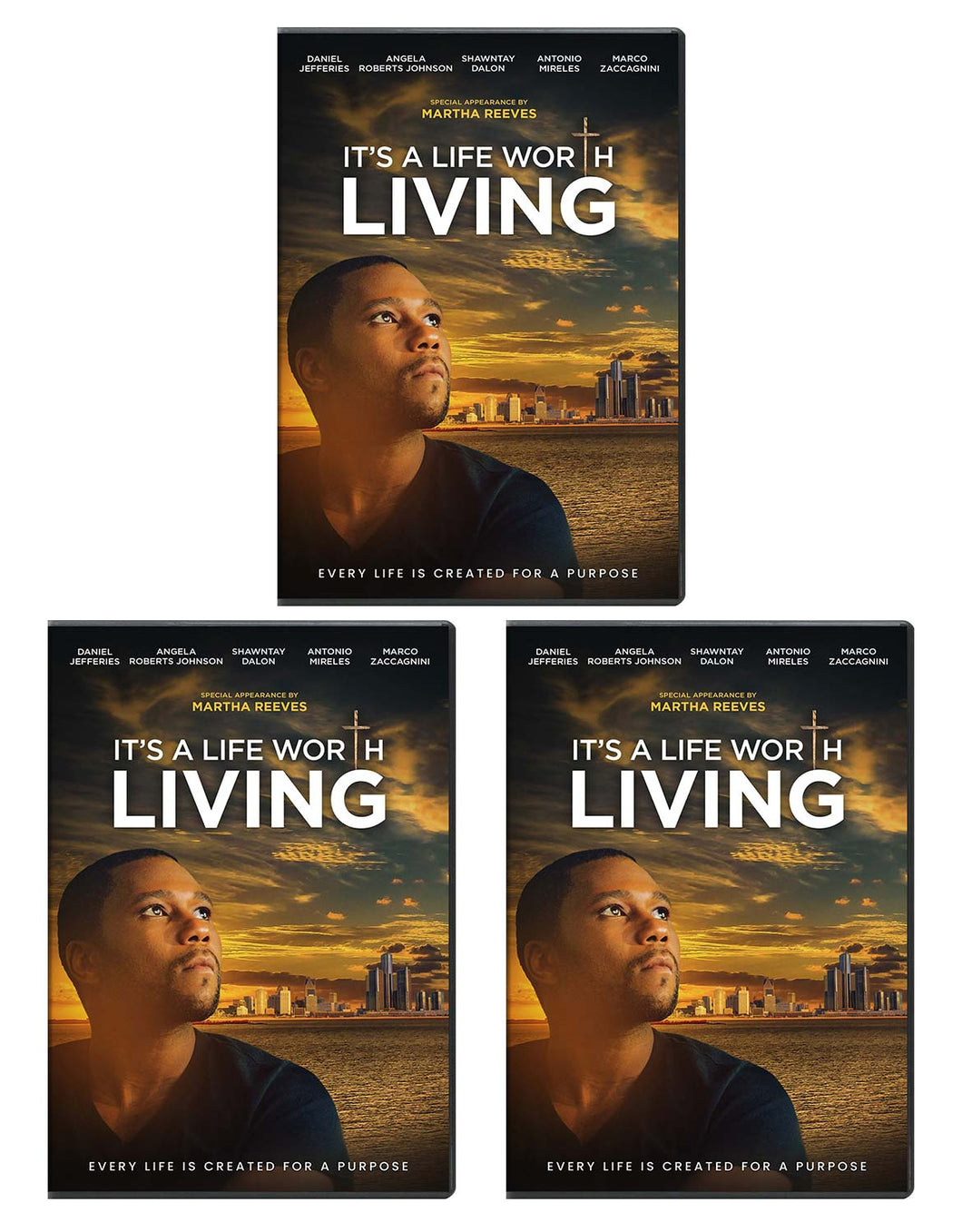 It's A Life Worth Living - DVD 3-Pack