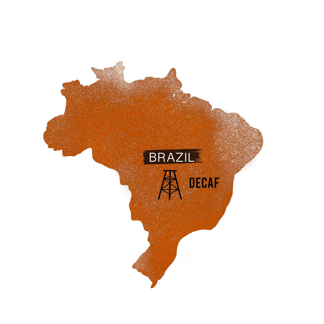 DECAF: Brazil- Dark Roast