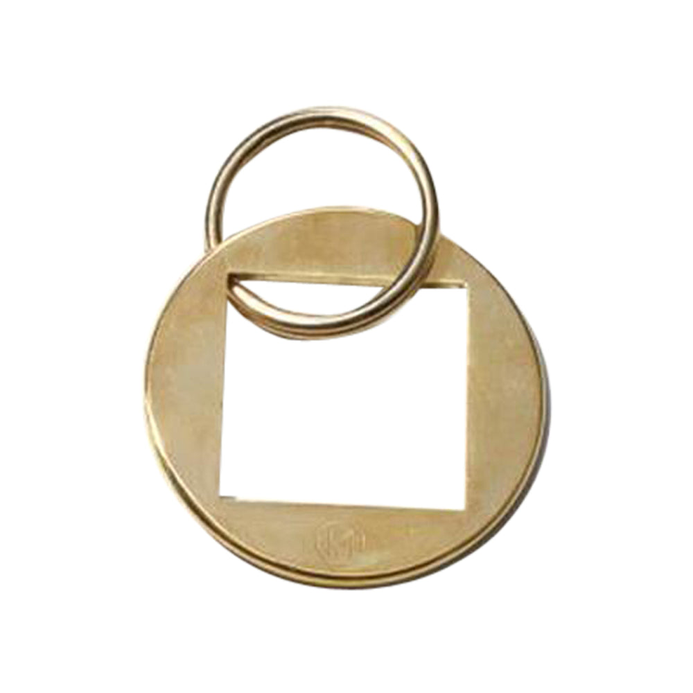 Monocle Monocle Brass Keyring
