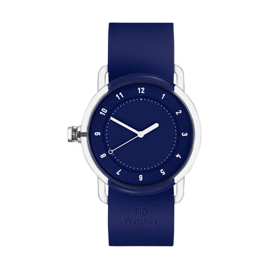 TID Watches TID Watch 38mm No.3 TR90 Blue w/ Blue Silicone Wristband