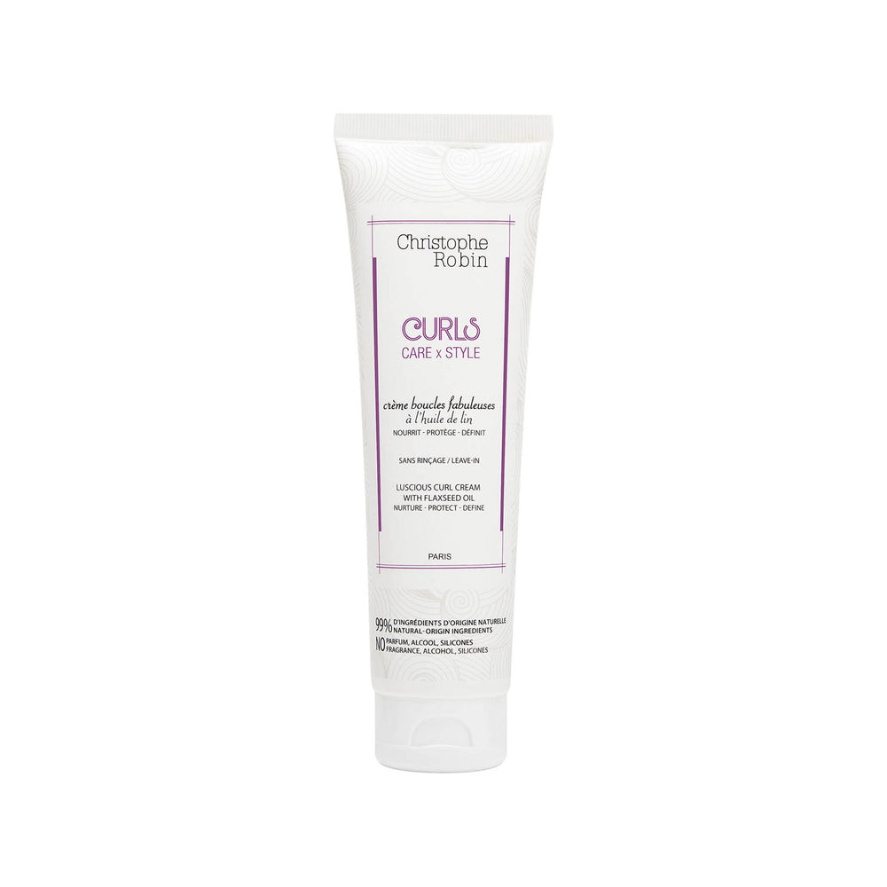 Christophe Robin - Luscious Curl Cream With Flax Seed Oil 150ml