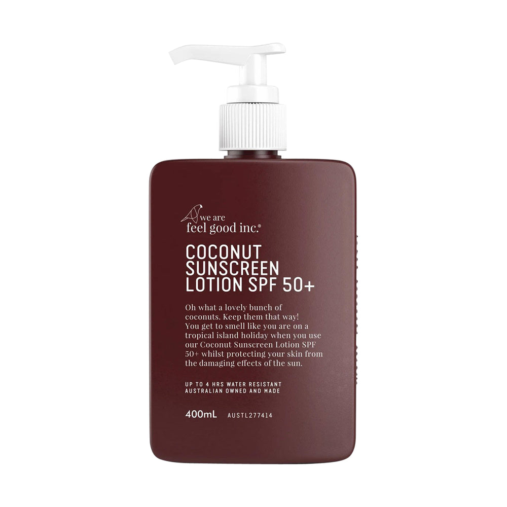 We Are Feel Good Inc. - Coconut Sunscreen SPF50+ 400mL