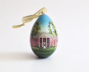 Hillwood Mansion Egg Ornament
