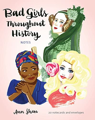 Bad Girls Throughout History Boxed Notecard Set