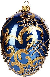 Blue Bell Push Ornament