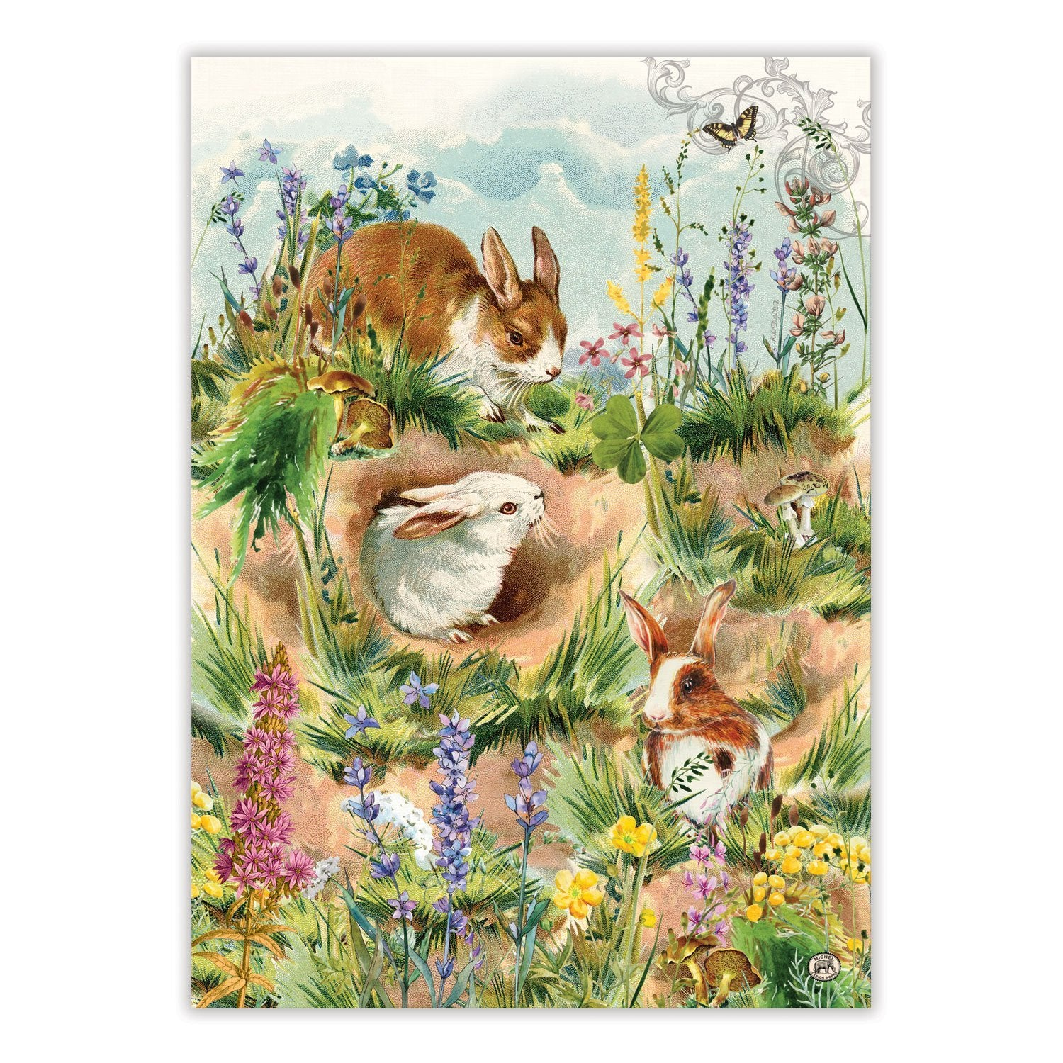Bunny Hollow Tea Towel