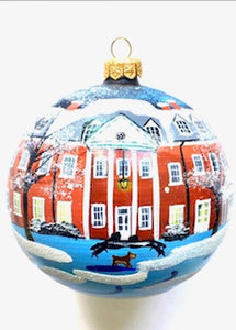 Hillwood Ball Ornament