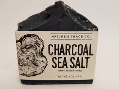 Natures Trace Charcoal Sea Salt Handmade Soap sold by Shop Small Chicago