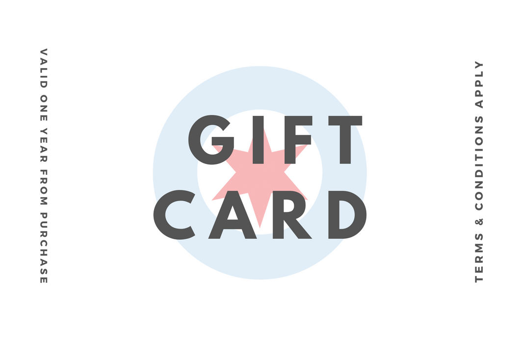 Gift Card to Make Up First