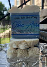 Load image into Gallery viewer, Clean Aura Soap Handcrafted by Soap Junkii