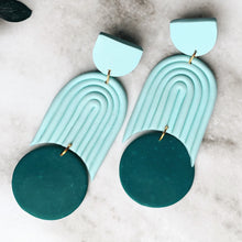 Load image into Gallery viewer, CONSTANZA Polymer Clay Statement Earrings by Jess A Little Shop