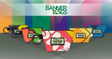 Load image into Gallery viewer, Upcycled Banner Pet Poo Bag Pouches and Biodegradable Bags by GreenLine Supply