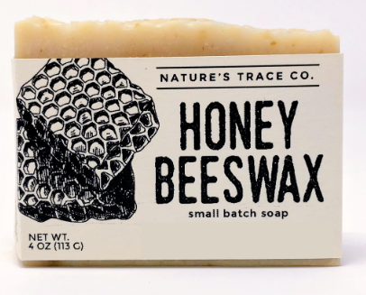 Honey Beeswax Handcrafted Soap by Nature's Trace