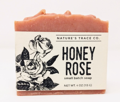 Honey Rose Handcrafted Soap by Nature's Trace