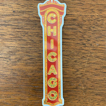Load image into Gallery viewer, Chicago Theater Sign sticker