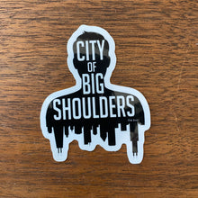Load image into Gallery viewer, Set of 7 Chicago-themed Stickers by Hof Draws