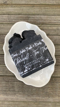 Load image into Gallery viewer, Charcoal & Tea Tree Handcrafted Soap by Soap Junkii