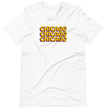 Load image into Gallery viewer, Chicago x3 T-Shirt by Little Red Balloon Shop