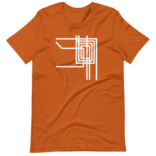 Load image into Gallery viewer, Chicago El Loop Transit Grid T-Shirt by Little Red Balloon Shop