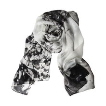 Load image into Gallery viewer, War and Nature Memorial Water Vines Silk Story Scarf by ImageDiary