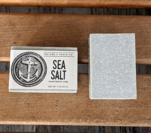 Sea Salt Handcrafted Soap by Nature's Trace