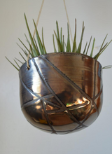 Load image into Gallery viewer, Chrome Burnout Ceramic Planter by Loamly