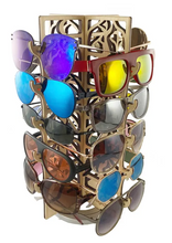 Load image into Gallery viewer, Maple Rotating Accessories Display by Design2Rave