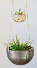 Load image into Gallery viewer, Burnout Double Hanging Ceramic Planter by Loamly