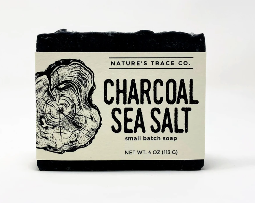 Charcoal Sea Salt Handcrafted Soap by Nature's Trace