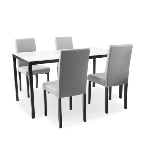 Lennox Dining Set (with 4 Atlas Chairs)