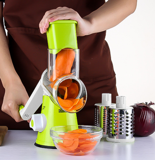 Spiralizer Vegetable Slicer - 3 Blades