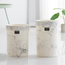 Load image into Gallery viewer, Marble Plastic Waste Bin