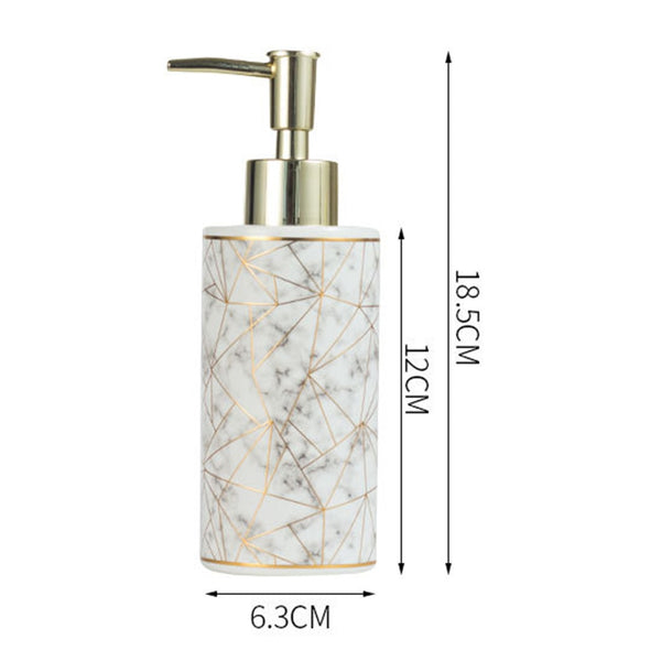 Luxury Ceramic Marble Pump