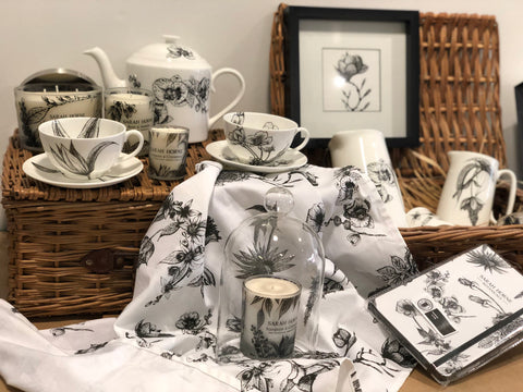 Wholesale and Trade homewares products available for stockists with Sarah Horne Botanicals