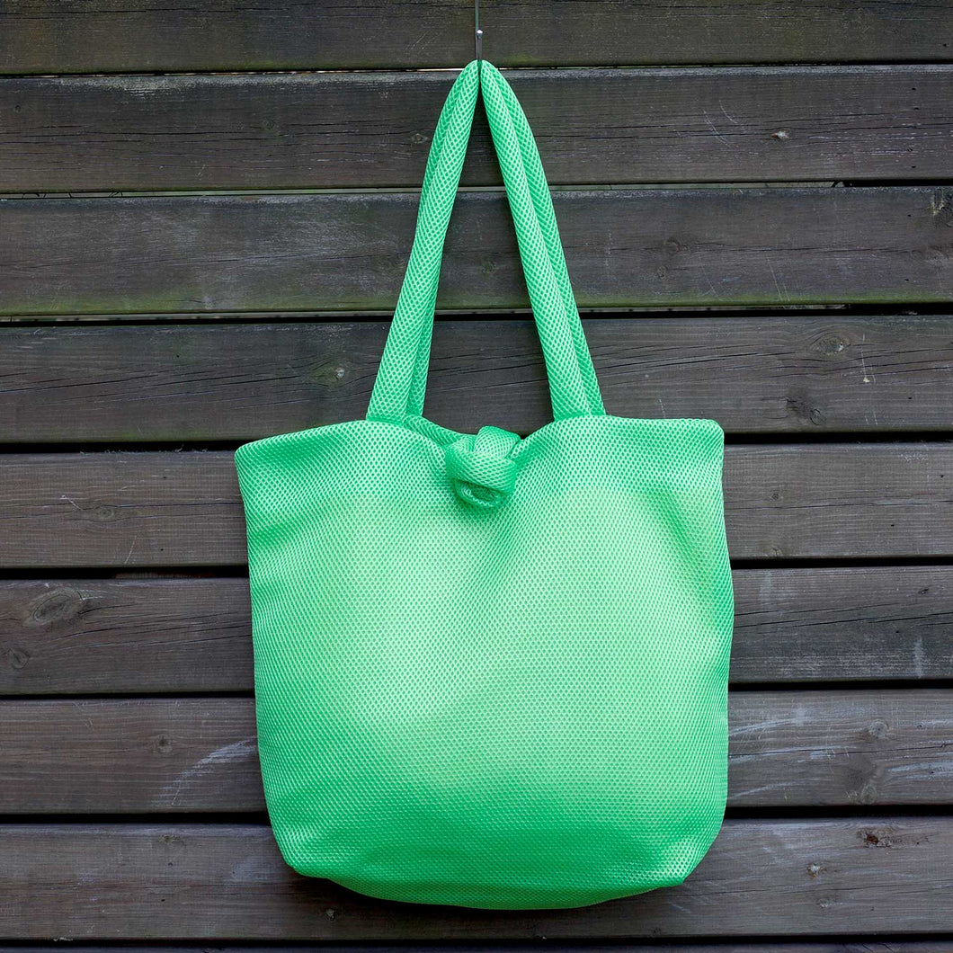 Lime Green Marshmallow Tote Bag