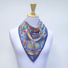 Load image into Gallery viewer, Rare Earth - Square Cotton Foulard