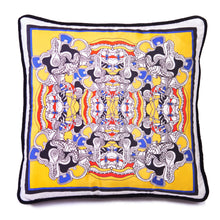 Load image into Gallery viewer, Taking the Mickey Yellow - Square Cushion Cover
