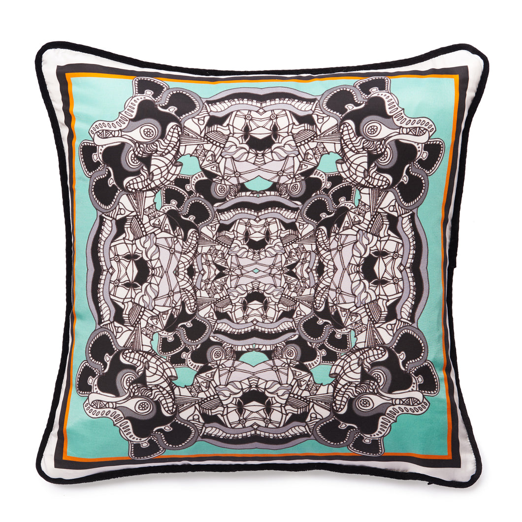 Taking the Mickey Mint - Square Cushion Cover