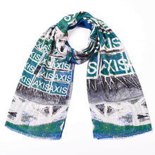 Load image into Gallery viewer, Corporate Punk - Cashmere Modal Tubular Scarf