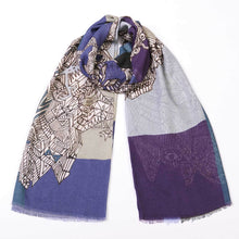Load image into Gallery viewer, School Daze - Cashmere Modal Tubular Scarf
