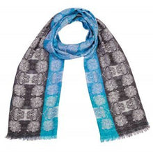 Load image into Gallery viewer, Mainframe Tricolour - Cashmere Modal Tubular Scarf