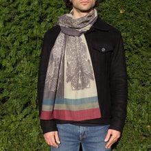 Load image into Gallery viewer, Smoke Signals - Tubular Wool Scarf
