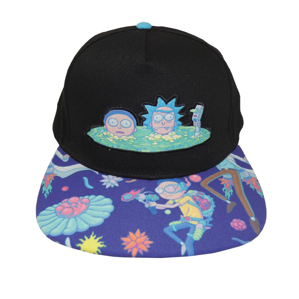 Rick And Morty - Portal Snapback-Cap Snapback-TheRockFanShop