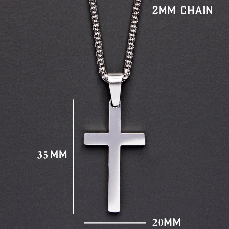 Classic Cross Men Chain